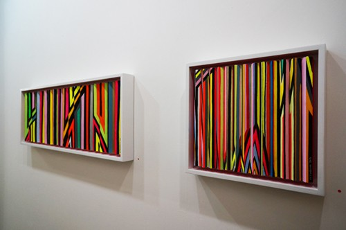 Michael Hambouz: Pretty in Pink at Calico Gallery, Photo: A.P. Smith