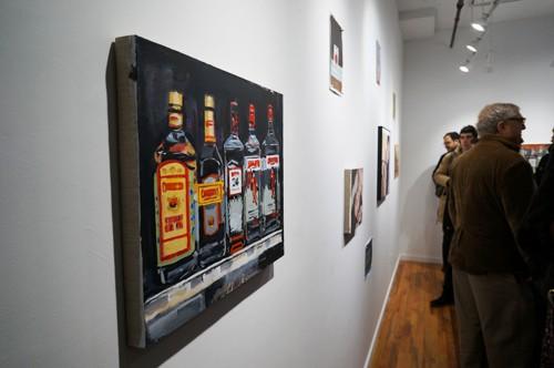 Walter Robinson at Owen James Gallery
