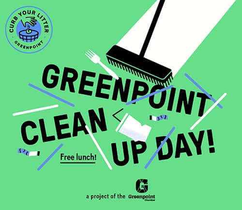 Greenpoint Cleanup Day
