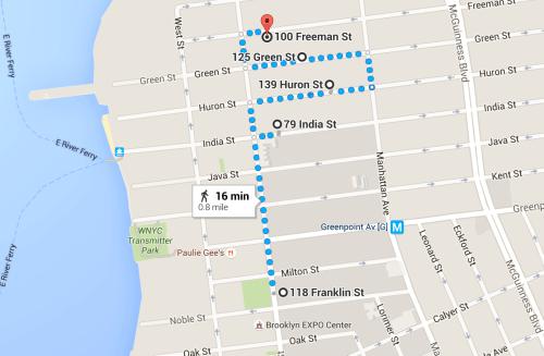 Walking Tour #3: Greenpoint's Alphabet City