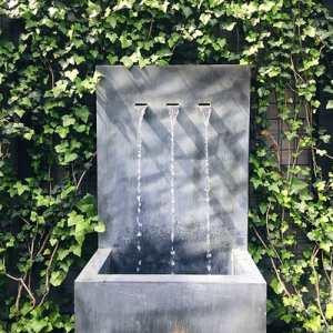 Solfire garden fountain
