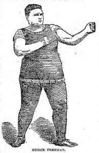 Gussie Freeman, female Greenpoint boxer.