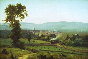 George Inness - The Lackawanna Valley, 1855
