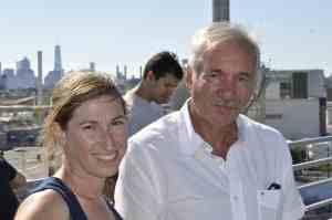 Founders Marni Majorelle and Tony Argento