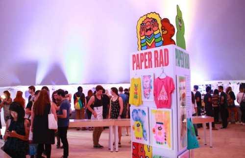 PAPER RAD Exhibition, presented by NYABF15. Photo courtesy Desilu Muñoz.