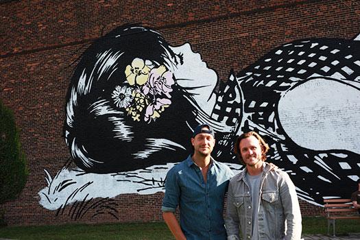 Stephen Donofrio (left) and Mark MacInnis (right)