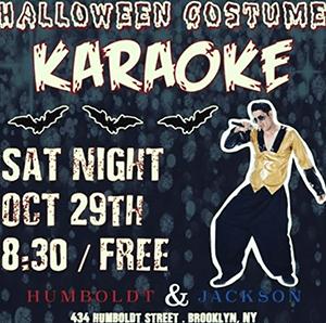 Halloween Karaoke at Humboldt & Jackson