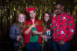 Get your photo booth outfits ready. 2015 No Office picture by BibiBooth.