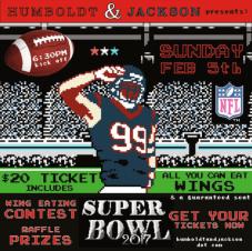 Humboldt & Jackson Superbowl 2017