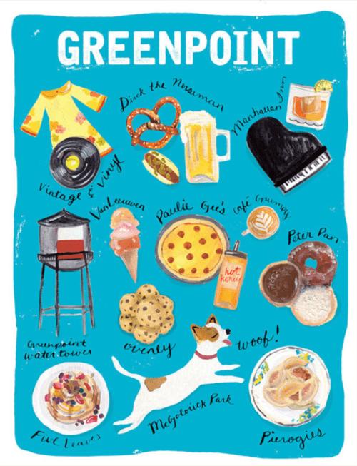 Jen Keenan - Greenpoint print