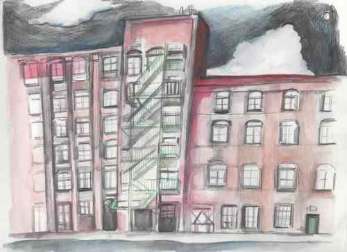 Greenpoint Manufacturing and Design Center - Illustration by Aubrey Nolan