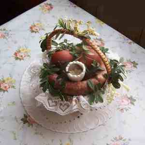 A traditional Polish Easter basket (via Wikipedia)