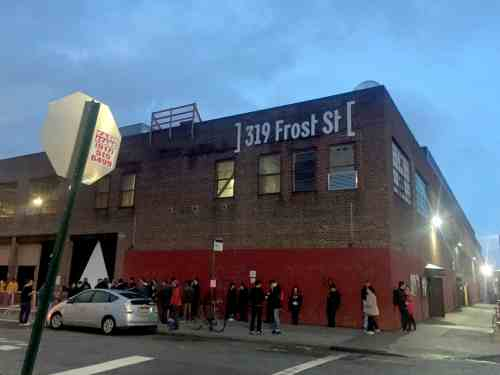 Brooklyn Steel Opening Night LCD Soundsystem Crowd