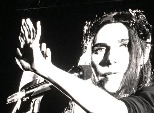 PJ Harvey performing at Primavera Sound 2016