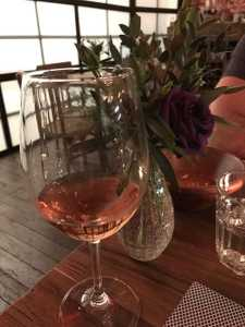 The Lal Kavaklidere, a Rosé at West Wine Bar
