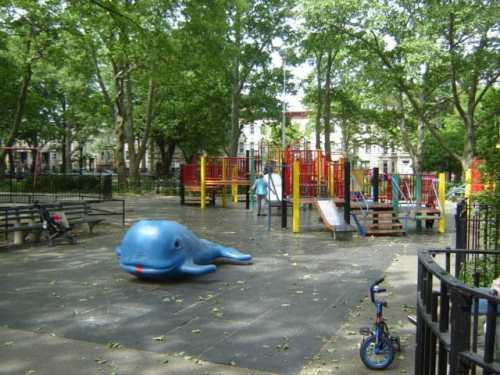 McGolrick Park Playground, photo via NYC Parks