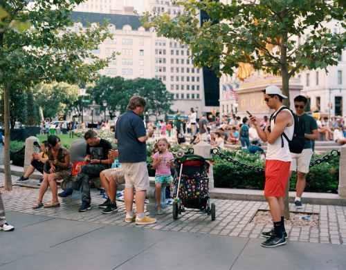 Central Park, Pokemon Go - George Underwood