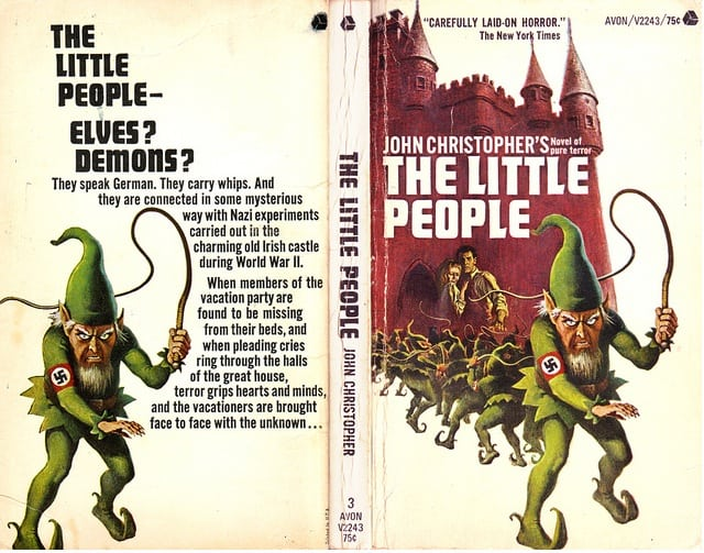 """""""The Little People"""" book cover"""