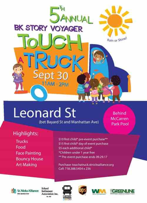 St Nick's Alliance 2017 Touch A Truck