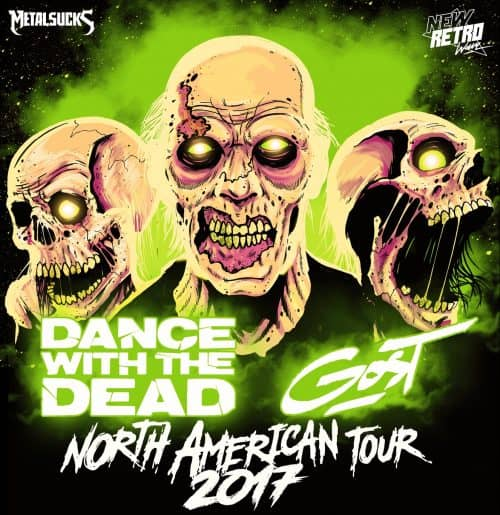 GosT, Dance With The Dead, Hogwasche @ Saint Vitus 2017