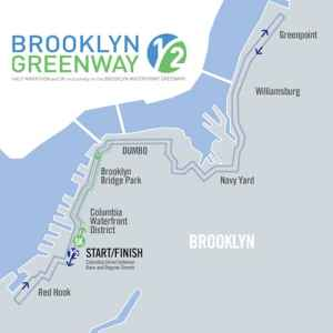 The Route. Via Brooklyn Greenway Initiative.