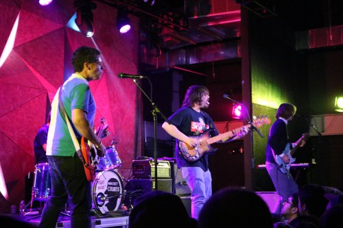 Parquet Courts at Elsewhere on November 19, 2017. Photo by Megan Penmann