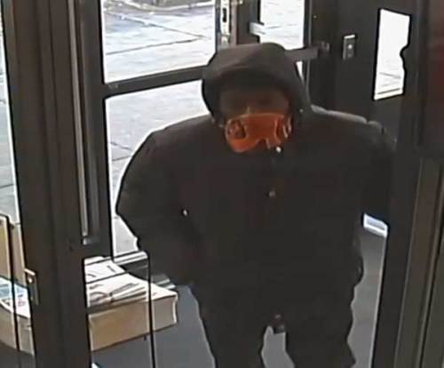 Suspect in January 1 Robbery