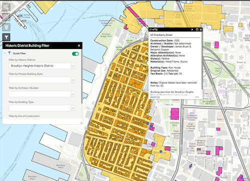 Behold, the map! Via the Landmarks Preservation Commission
