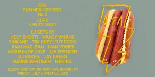 DFA Summer Hot Dog 2018