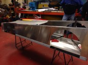 Fabricated Aluminium monocoque chasis 014