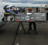 In the paddock at the greenpower Merryfield heat