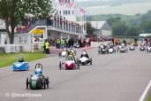 Greenpower Goodwood race start