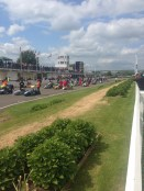 Grid formation for race two Goodwood Motor Circuit
