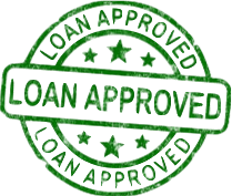 Loan Approved Green Stamp