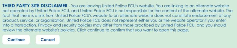 United Police FCU Interstitial