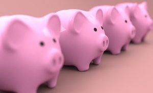 Piggy Banks Lined Up