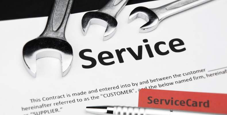 Service Contract with Wrenches