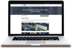 Business Sense Employer Benefits on Laptop