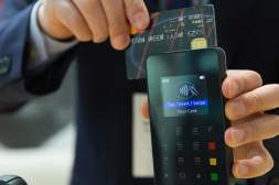 Credit Card Swipe on NFC Terminal