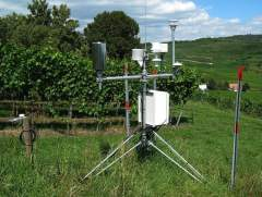 Weather Station in Meadow
