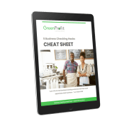 Business Checking Cheat Sheet Tablet Cover