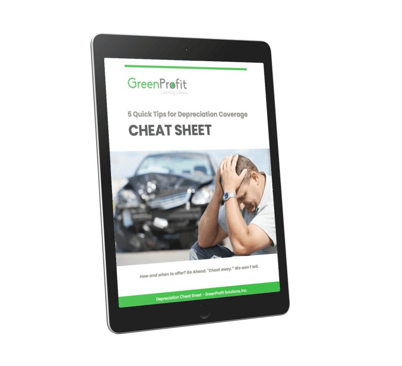 Depreciation Coverage Cheat Sheet Tablet Cover