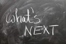 What's Next Chalkboard