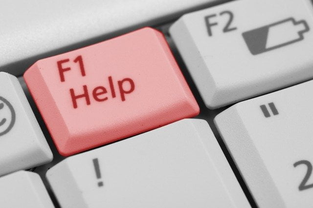F1 Help Button