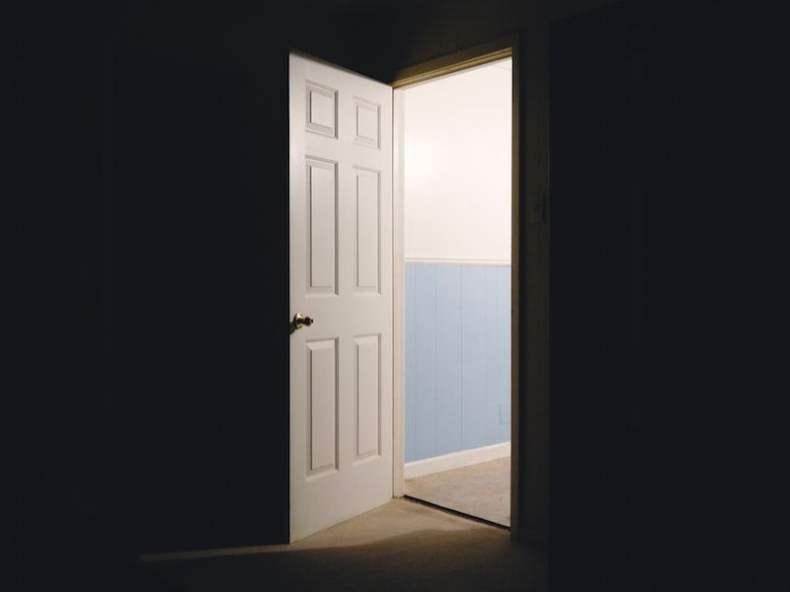 Open Door to Outside