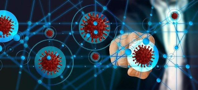Coronavirus Digital Finger Press