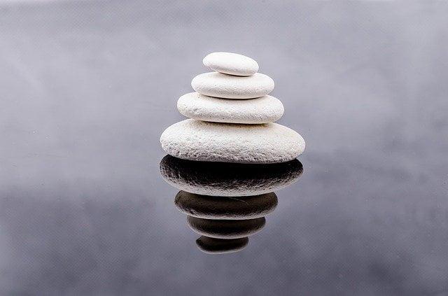 White Stones Piled
