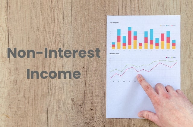 Chart with Finger Pointing - Non-Interest Income