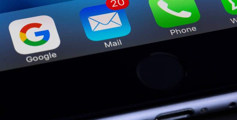 iPhone Google Mail Phone App Icons
