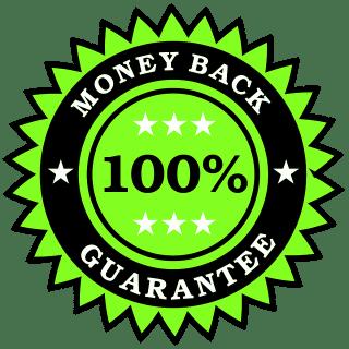 Money Back Guarantee - Green